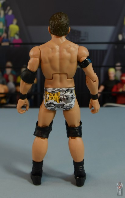 wwe elite 72 roderick strong figure review - rear