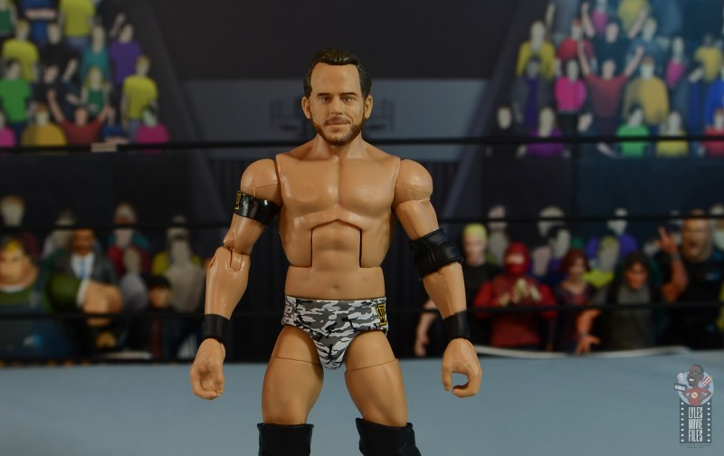wwe elite 72 roderick strong figure review - wide shot