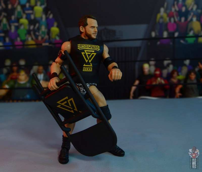 wwe elite 72 roderick strong figure review - with undisputed era war games chair