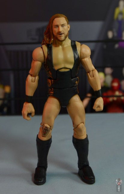 wwe elite 75 pete dunne figure review - front