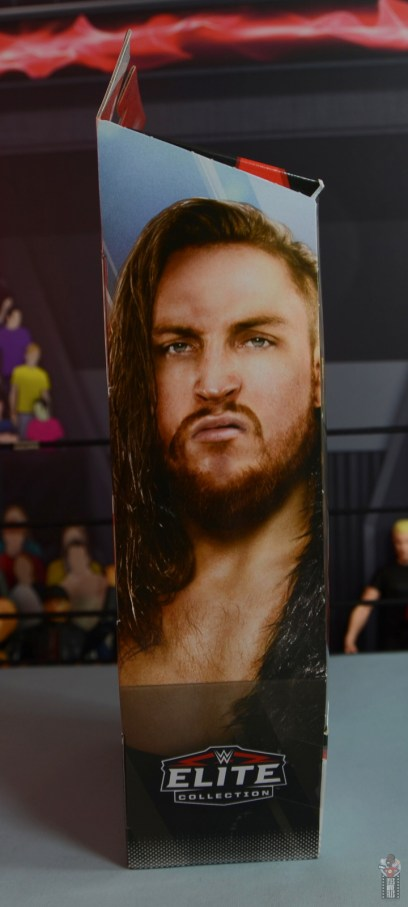 wwe elite 75 pete dunne figure review - package right side