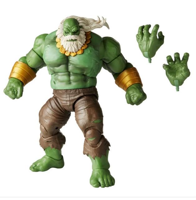 Marvel Legends Maestro Hulk - accessories