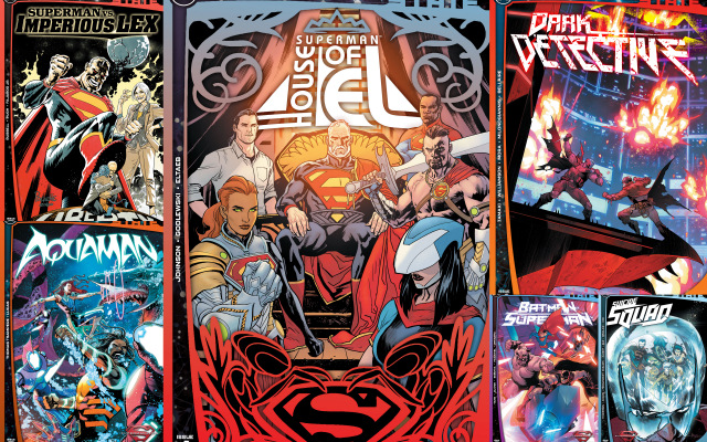 dc comics reviews future state dark detective, house of el