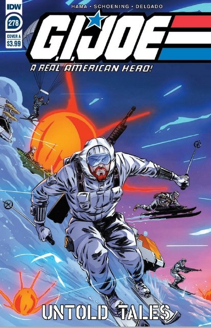 gi joe a real american hero cover #278