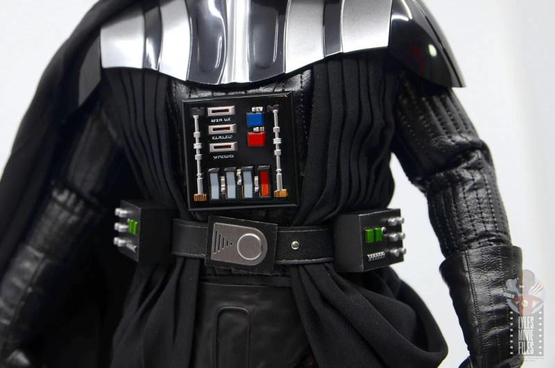 hot toys empire strikes back darth vader figure review - chest panel