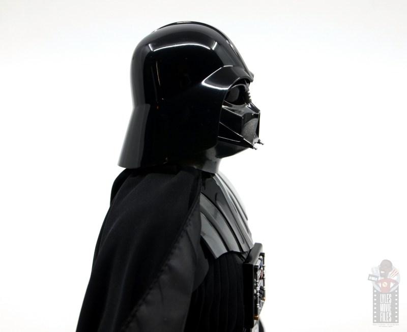 hot toys empire strikes back darth vader figure review - helmet side