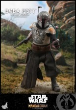 hot toys the mandalorian boba fett figure -armored up