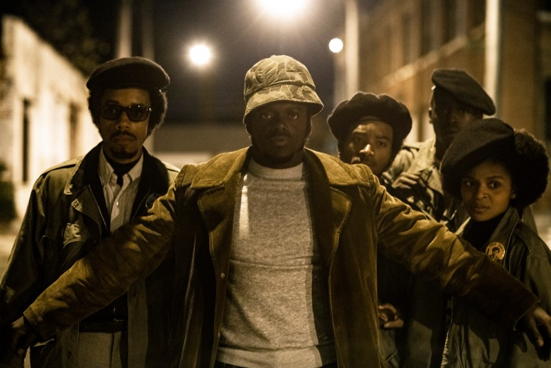 judas and the black messiah review -darrell britt-gibson, daniel kaluuya, ashton sanders and dominique thorne