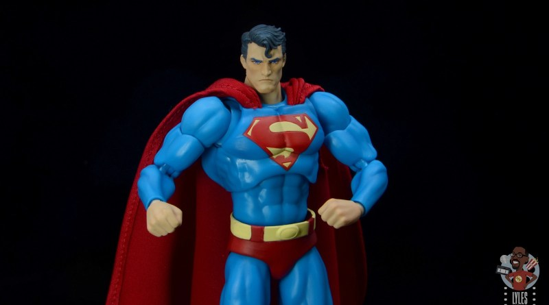 mafex hush superman figure review - main pic