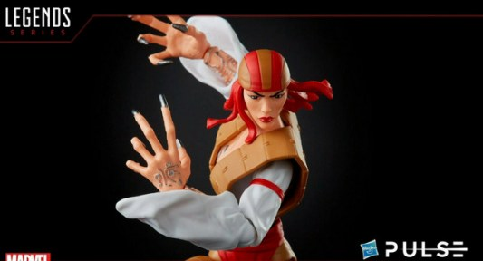 marvel legends fan first friday -lady deathstrike close up