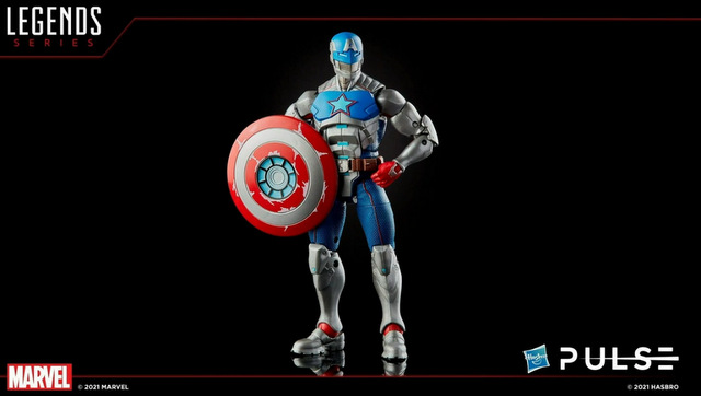 marvel legends fan first friday - silver warrior