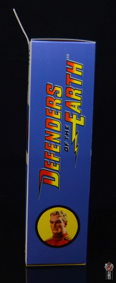 neca defenders of the earth flash gordon figure review - package side right