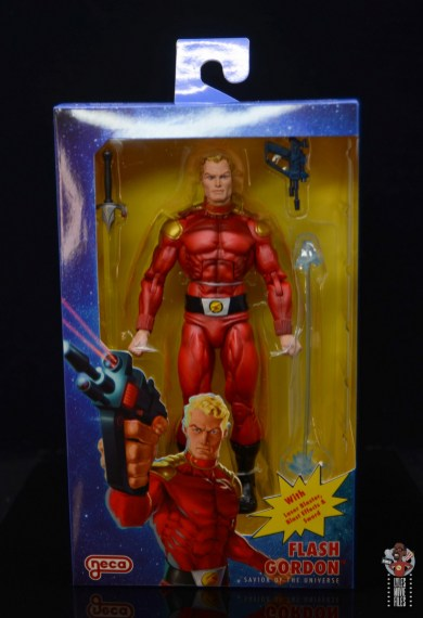 neca defenders of the earth flash gordon figure review - package front