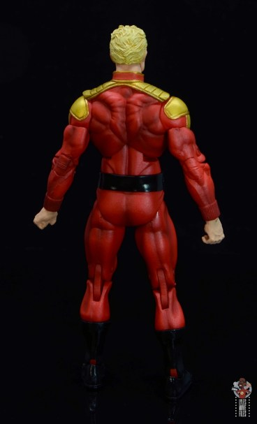 neca defenders of the earth flash gordon figure review - rear