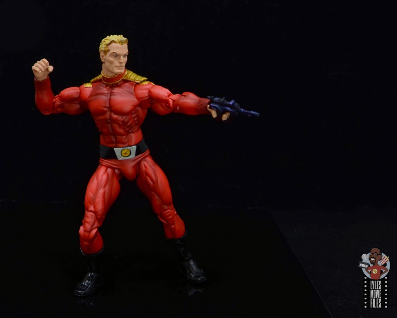 neca defenders of the earth flash gordon figure review -taking aim