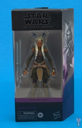 star wars the black series ahsoka tano figure review - package front