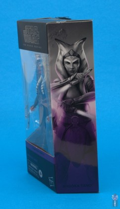 star wars the black series ahsoka tano figure review - package side