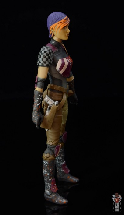 star wars the black series sabine wren figure review - right side