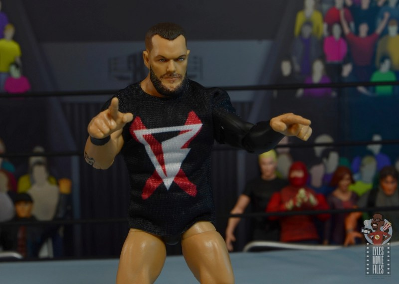 wwe elite 82 finn balor figure - gun hands