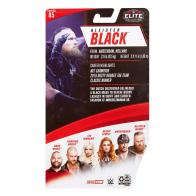 wwe elite 85 aleister black - package rear