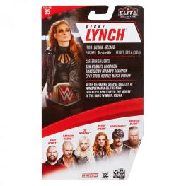 wwe elite 85 becky lynch -package rear