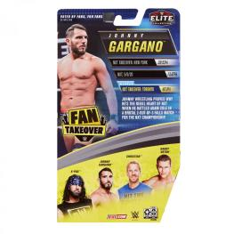 wwe fan takeover series 2 johnny gargano -package rear