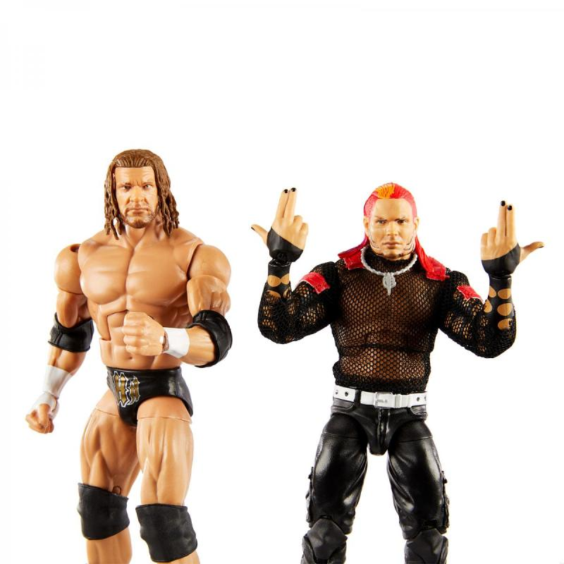 wwe two pack triple h vs. jeff hardy -front