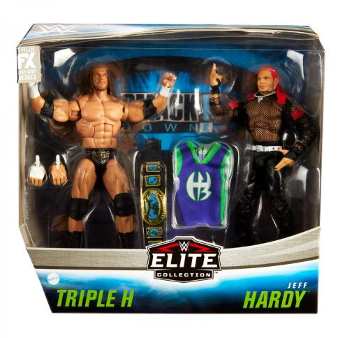 wwe two pack triple h vs. jeff hardy -package front