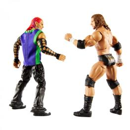 wwe two pack triple h vs. jeff hardy - rear