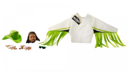 wwe ultimate edition 8 macho man -accessories