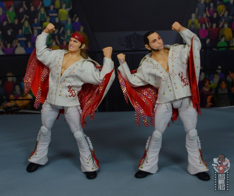 aew the young bucks figure review - outfit front