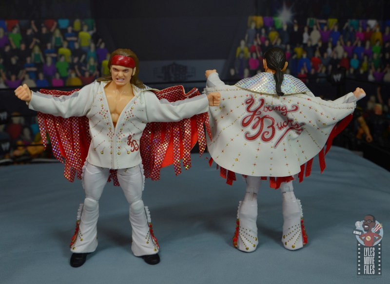 aew the young bucks figure review - uniform detail