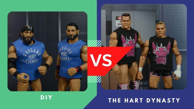 diy vs hart dynasty