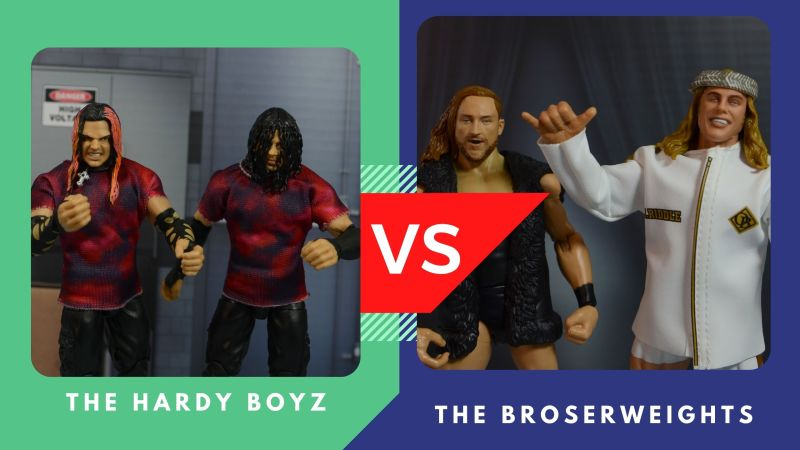 hardy boyz vs broserweights