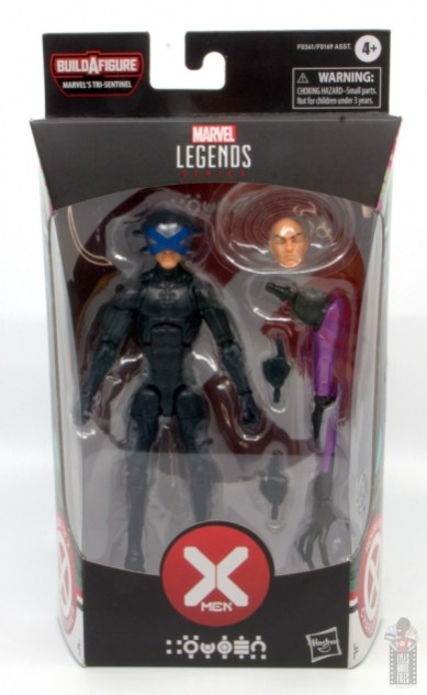 marvel legends house of x charles xavier figure review - package front