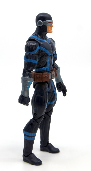 marvel legends house of x cyclops figure review - right side