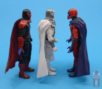 marvel legends house of x magneto figure review - facing magneto figures