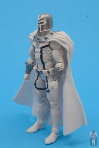 marvel legends house of x magneto figure review - left side
