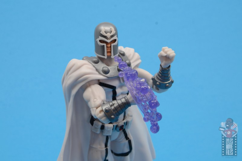marvel legends house of x magneto figure review - with power effect