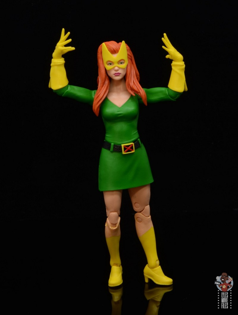 marvel legends house of x marvel girl figure review - raising arms