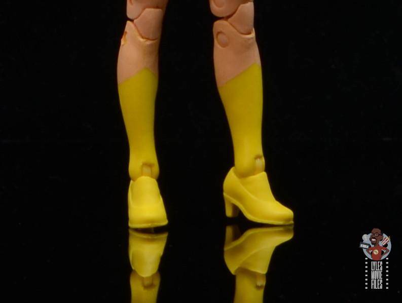 marvel legends house of x marvel shoe detail
