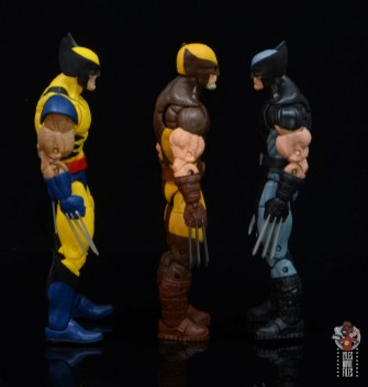 marvel legends house of x wolverine figure review - facing tiger stripe and x-force