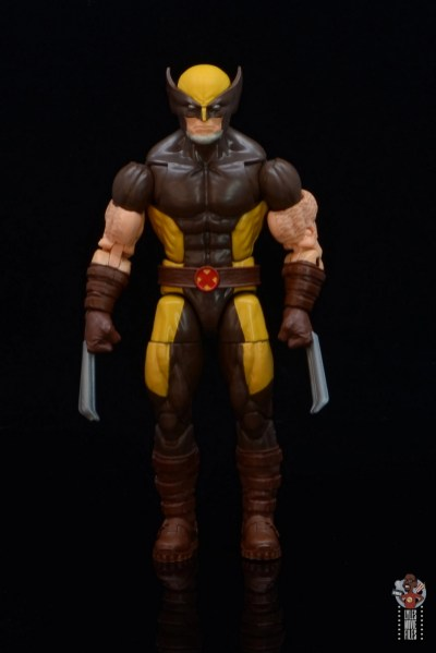 marvel legends house of x wolverine figure review - front