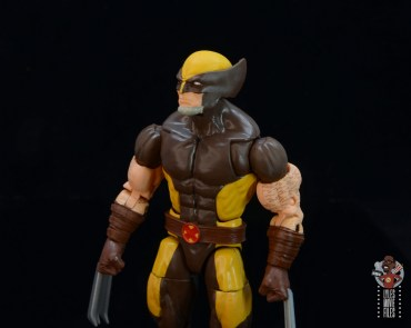 marvel legends house of x wolverine figure review -head sculpt detail left