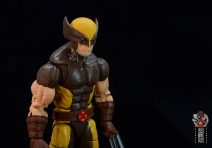 marvel legends house of x wolverine figure review - head sculpt right