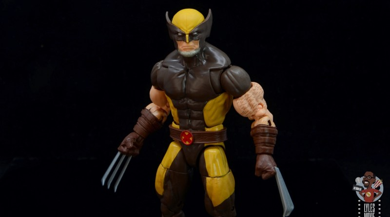 marvel legends house of x wolverine figure review - main pic