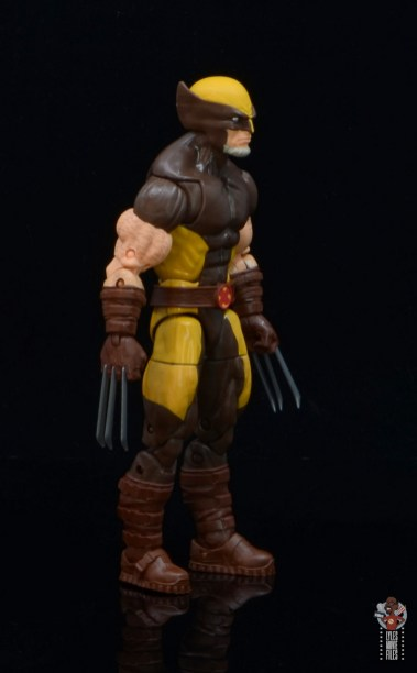 marvel legends house of x wolverine figure review - right side