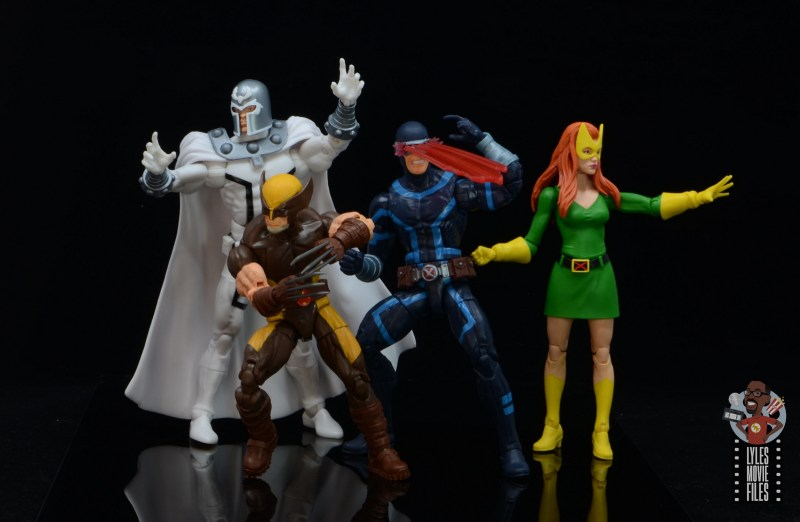 marvel legends house of x wolverine figure review - with house of x team
