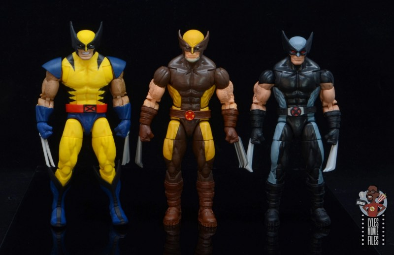 marvel legends house of x wolverine figure review - with tiger stripe and x-force wolverine