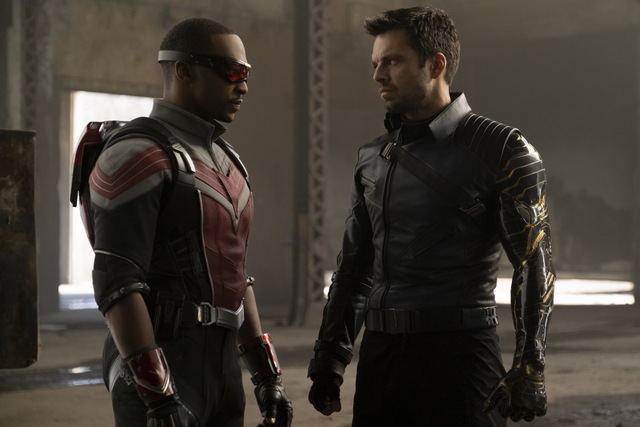the falcon and the winter soldier the star-spangled man review - falcon and winter soldier